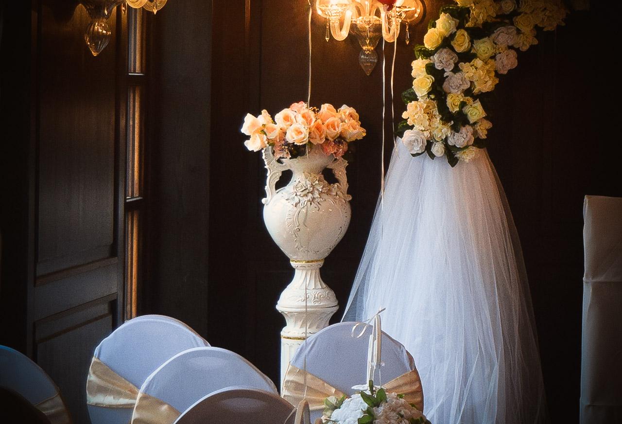 Porzellanvasen Dekoration 1- Hochzeitsdekoration - Rund um Ihre Hochzeit