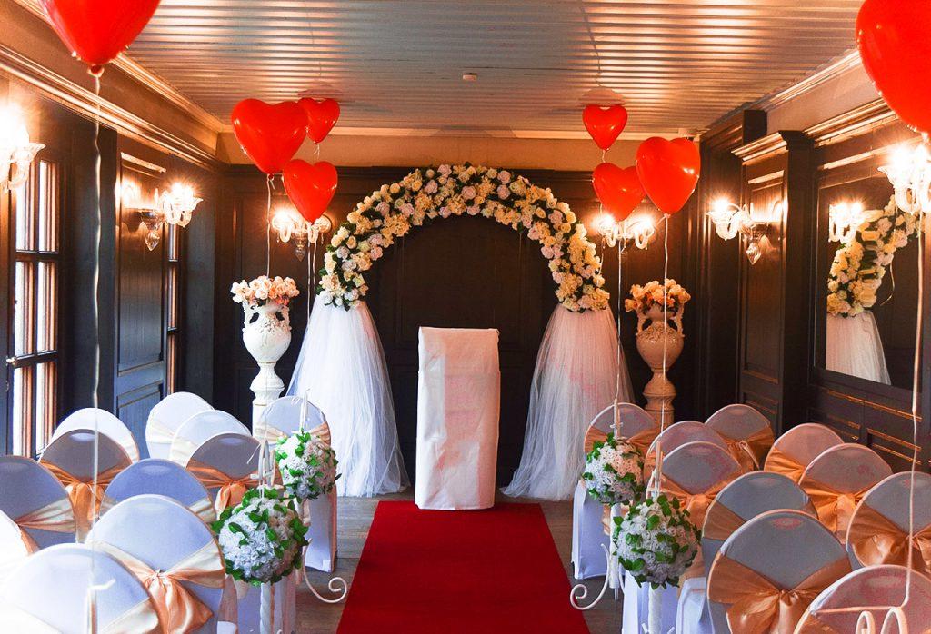 Porzellanvasen Deko - Hochzeitsdekoration - Rund um Ihre Hochzeit