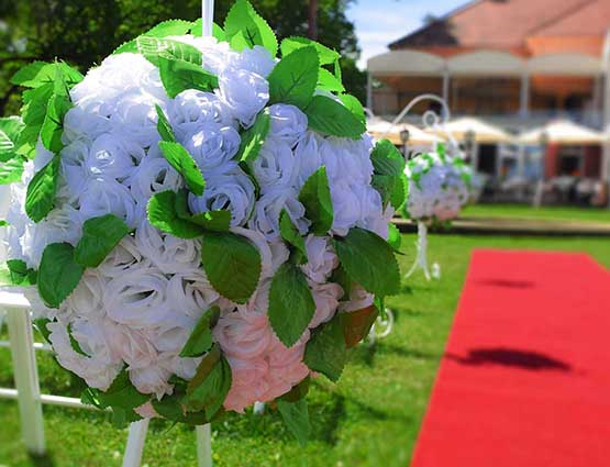 Blumenkugeln Hochzeit mieten - Hochzeitsdekoration mieten - Hochzeit mieten - Rund um Ihre Hochzeit berlin