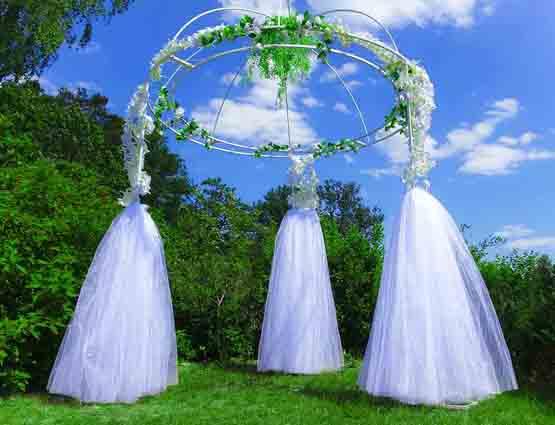 Hochzeitsbogen Lilly mieten, Hochzeitskupel, Hochzeit, Hochzeitsdekoration mieten, Hichzeitsbogen, Rund um Ihre Hochzeit