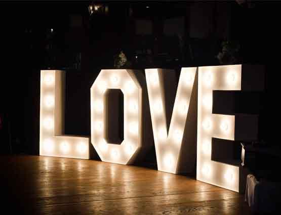 Hochzeitsdekoration, Leuchtende Love Buchstaben Freie Trauung, Trauung Hochzeit, Rund um Ihre Hochzeit, Hochzeitsdekoration mieten, Dekoration für die Hochzeit