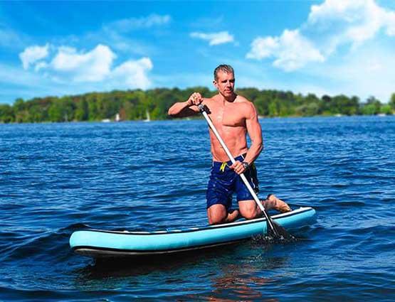 Rund um Ihre Hochzeit Stand Up Paddle Board Tour