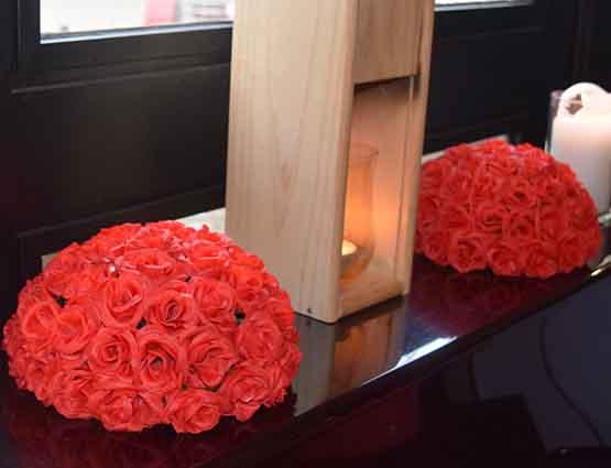 Blumengesteck. Tischdekoration mieten, Hochzeitsdekoration mieten, Rund um Ihre Hochzeit