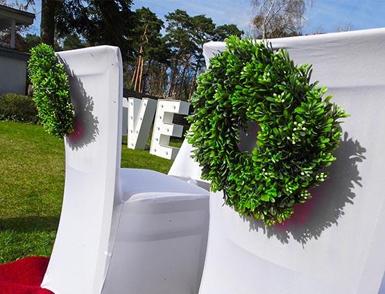 Buchskranz mieten, Hochzeitsdekoration mieten - Hochzeit mieten - Rund um Ihre Hochzeit berlin