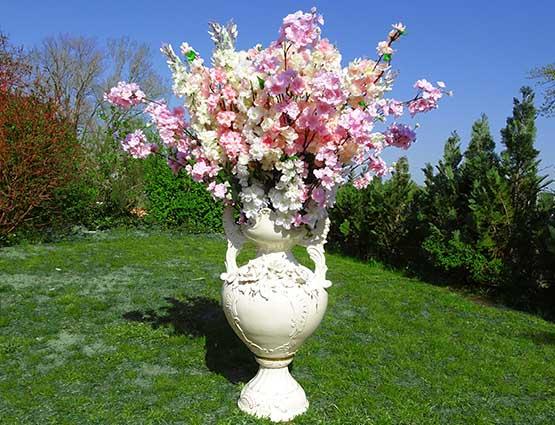 Hochzeitsdekoration mieten, Porzellan Vasen - Hochzeit mieten - Rund um Ihre Hochzeit