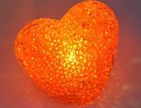 LED Herz rot mieten, Hochzeitsdekoration mieten, leuchtende Hochzeitsdekoration bei rund um Ihre Hochzeit