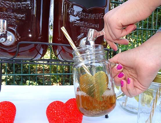 Getränkespender und Candy Bar Hochzeit mieten, Hochzeitsdekoration mieten - Hochzeit mieten, Rund um Ihre Hochzeit