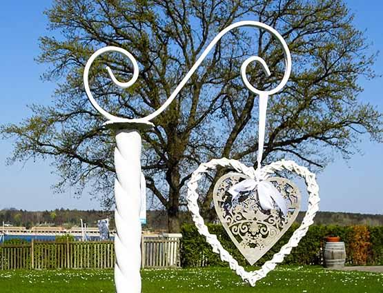 Herzen Hochzeitstdekoration mieten Berlin - Hochzeitsdekoration mieten, Hochzeit mieten, Rund um die Hochzeit