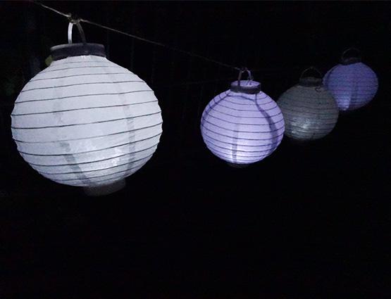 LED Lampions mieten für die Hochzeit , Hochzeitsdekoration mieten - Hochzeit mieten, rund um Ihre Hochzeit berlin