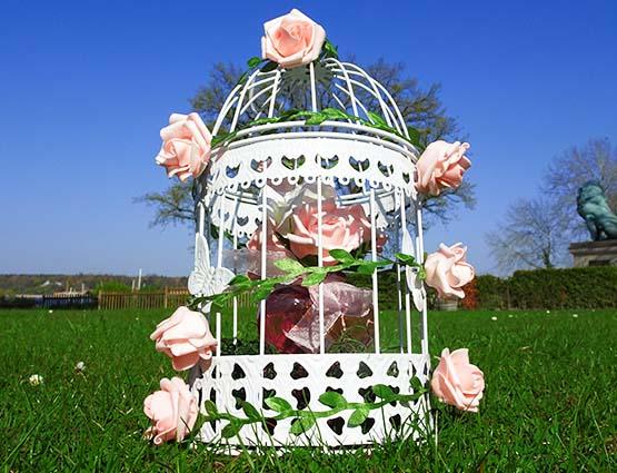 Vogelkäfig mieten, Hochzeitsdeko mieten, Hochzeitsdekoration mieten, Hochzeit, Hochzeitsdekoration mieten, Hichzeitsbogen, Rund um Ihre Hochzeit