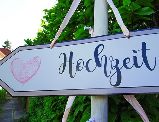 Wegweiser Hochzeit, Gästebuch, Buffet, Parkplätze mieten, Deko für die Hochzeit, Candy Bar Hochzeit, Rund um Ihre Hochzeit, Candy Bar mieten, Candy Bar Deko mieten, Hochzeitsdekoration