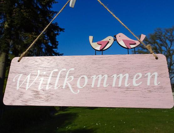 Wilkommnen Schild Hochzeit mieten, Hochzeitsdekoration mieten, Hochzeit mieten - Rund um Ihre Hochzeit berlin