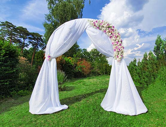 Hochzeitsbogen mieten berlin - Hochzeitsdekoration mieten - Hochzeit mieten - Rund um Ihre Hochzeit