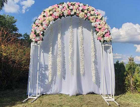 Herzbogen Lia mieten, Hochzeitsdekoration mieten, Rund um Ihre Hochzeit, Hochzeitsbogen mietem, Wedding