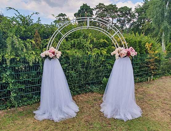 Hochzeitbogen Traubogen mieten, Herzbogen, Hochzeitsdekoration mieten, Rund um Ihre Hochzeit, Wedding