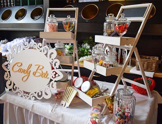 Candy Bar XS mieten Hochzeit, rund um Ihre Hochzeit, Hochzeitsdekoration mieten, Hochzeitsdeko mieten