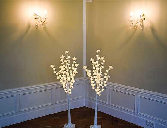 LED Hochzeitsdeko, Leuchtende Rosenbäume mieten, Hochzeitsdekoration mieten, Hochzeit mieten, Rund um Ihre Hochzeit in Berlin