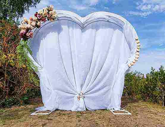 Herzbogen mieten, Herzbogen, Hochzeitsdekoration mieten, Rund um Ihre Hochzeit, Wedding