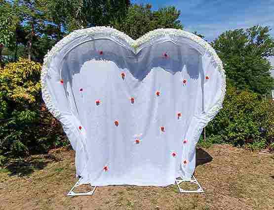 Hochzeitbogen Herform, Herzbogen, Hochzeitsdeko mieten, Rund um Ihre Hochzeit, Wedding