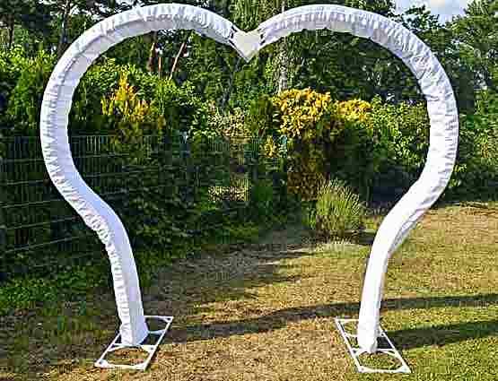 Hochzeitbogen mieten Herzform, Herzbogen mieten, Hochzeitsdekoration mieten, Rund um Ihre Hochzeit, Wedding Berlin