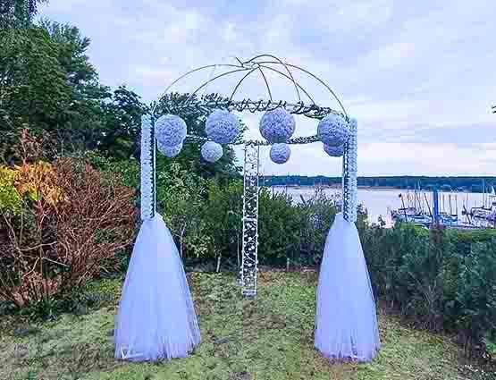 Hochzeitbogen mieten, Hochzeitsdekoration mieten, rund um Ihre Hochzeit, Wedding